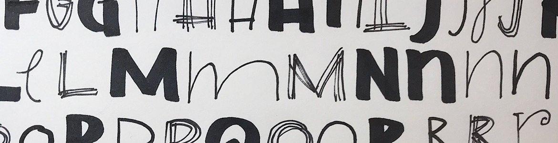 Sharpie Marker Lettering
