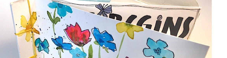 Spring Watercolor Book