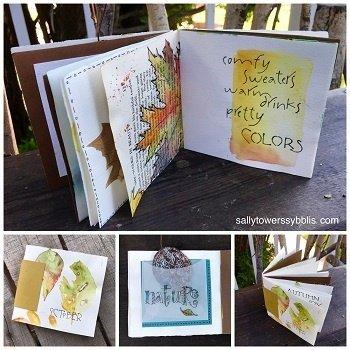Little Fall Watercolour Book