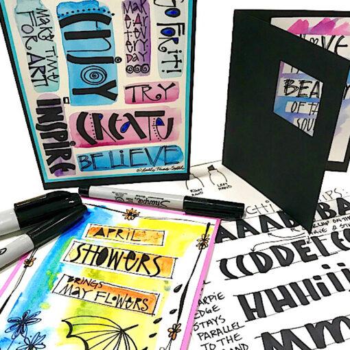 Photo for Sharpie Alphabet Cards Class